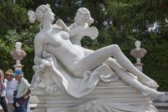 Sanssouci普鲁士人的宫殿 免版税图库摄影
