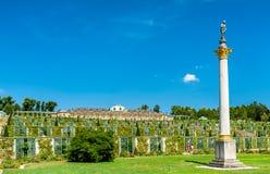 Sanssouci,弗雷德里克颐和园伟大,普鲁士的国王,在波茨坦,德国 免版税库存照片