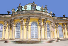 Sanssouci. Is the name of the former summer palace of Frederick the Great, King of Prussia, in Potsdam, near Berlin. It is often counted among the German rivals Stock Images