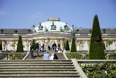 Sanssouci Castle in Potsdam Stock Photos
