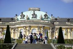 Sanssouci Castle in Potsdam Royalty Free Stock Photo