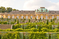 Sanssouci Garden Royalty Free Stock Photo