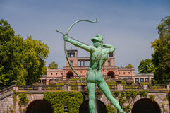 Sanssouci garden sculpture in Potsdam, Germany Royalty Free Stock Images