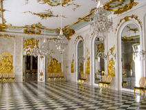 Sanssouci New Chamber. The New Chamber room in the Orangerie of the Sanssouci palace in Potsdam (near Berlin, Germany Stock Image