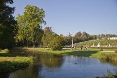 Sanssouci pałac i park - Potsdam (Niemcy) Zdjęcia Royalty Free