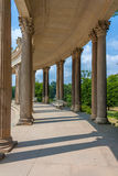 Sanssouci palace colonnades Royalty Free Stock Photography