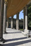Sanssouci Palace Courtyard Columns in Potsdam,Germany Royalty Free Stock Photos