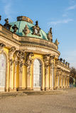 Sanssouci Palace. A park around the Sanssouci Palace in Potsdam Germany is full of villas, palaces and other royal buildings. It is a perfect place for a trip Stock Photo