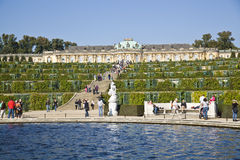 Sanssouci Palace and Park - Potsdam (Germany) Royalty Free Stock Photo
