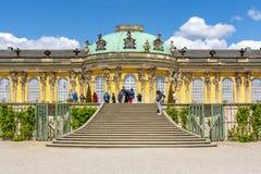 Sanssouci palace and park, Potsdam, Germany royalty free stock photo