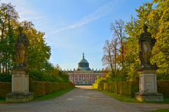 Sanssouci palace in Potsdam Stock Images