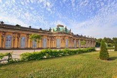 Sanssouci palace, Potsdam Germany Royalty Free Stock Photography