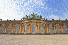 Sanssouci palace - Potsdam. Sanssouci palace, Potsdam City, Germany stock image