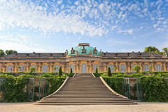 Sanssouci palace - Potsdam. Sanssouci palace, Potsdam City, Germany stock images