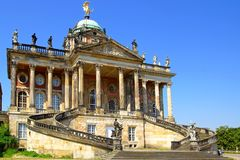The Sanssouci palace in Potsdam, Germany. Stock Image