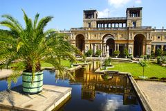 The Sanssouci palace in Potsdam, Germany. Stock Photography