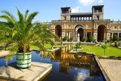 The Sanssouci palace in Potsdam, Germany. Orangerieschloss in Sanssouci palace in Potsdam. Germany stock photography