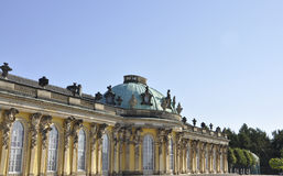 Sanssouci Palace in Potsdam,Germany. Sanssouci Palace in Potsdam Germany on a day of august 28 2014 stock image
