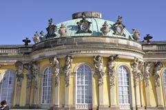 Sanssouci Palace in Potsdam,Germany Stock Photo