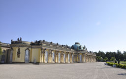 Sanssouci Palace in Potsdam,Germany royalty free stock images