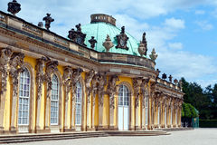 Sanssouci Palace in Potsdam, Germany. Stock Image