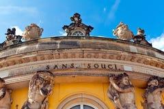 Sanssouci Palace in Potsdam, Germany. Royalty Free Stock Photo