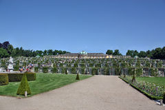 The Sanssouci palace Royalty Free Stock Images