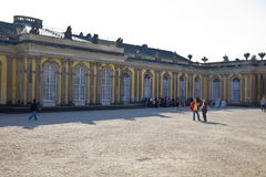 Sanssouci Palace - Potsdam (Germany) Stock Image