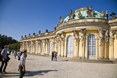 Sanssouci Palace  - Potsdam (Germany) Royalty Free Stock Photo