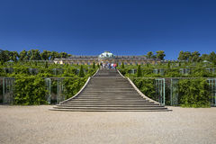 Sanssouci Palace in Potsdam, near Berlin Royalty Free Stock Photos