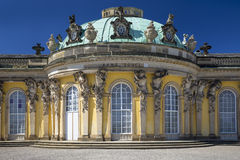 Sanssouci Palace in Potsdam, near Berlin Royalty Free Stock Photos