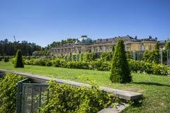 Sanssouci Palace in Potsdam, near Berlin Stock Image