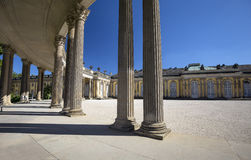 Sanssouci Palace in Potsdam, near Berlin Royalty Free Stock Images