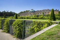 Sanssouci Palace in Potsdam, near Berlin Royalty Free Stock Photo