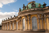 Sanssouci Palace. In Potsdam near Berlin was a summer royal residence Royalty Free Stock Images