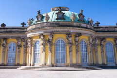 Sanssouci palace Royalty Free Stock Photography