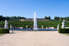 Sanssouci palace in potsdam Royalty Free Stock Images