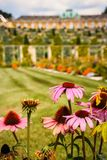 Sanssouci palace. Surrounded by its wonderful park in summer stock image