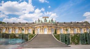 Sanssouci Palace. On a sunny day stock image