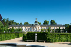 Sanssouci palace and terraced vineyard Stock Image