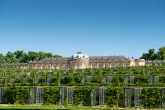 Sanssouci palace and terraced vineyard Royalty Free Stock Image