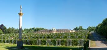 Sanssouci palace and terraced vineyard Stock Image