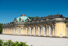 Sanssouci palace and terraced vineyard Stock Photo
