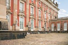 Sanssouci. Palacio Imágenes de archivo libres de regalías