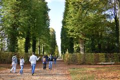 Sanssouci-Palast in Berlin stockbild