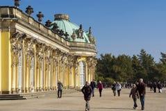 Sanssouci Palast in Potsdam, Deutschland Stockfotografie