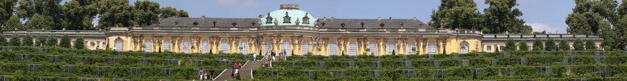 Sanssouci panorama Royalty Free Stock Photos