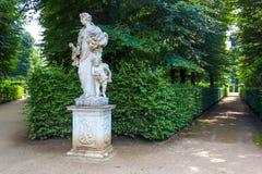 Sanssouci parkerar statyer Royaltyfri Foto