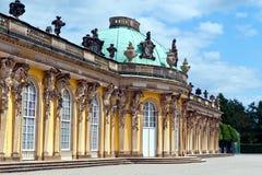 sanssouci potsdam дворца Германии Стоковое Изображение