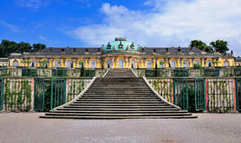 Sanssouci, Potsdam. The Palace of Sanssouci in Potsdam, near Berlin, Germany Stock Images